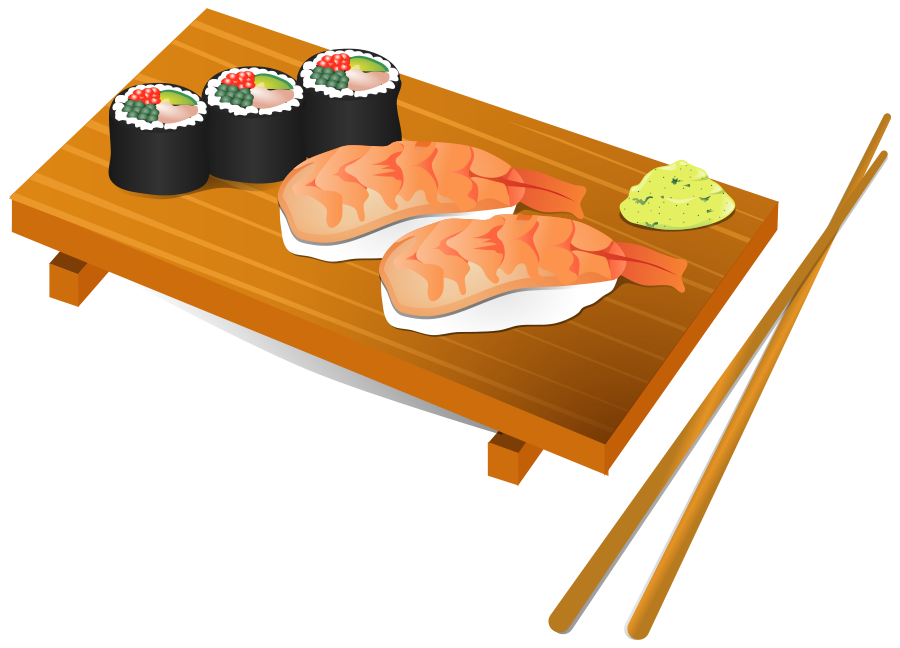 Sushi clip art free clipart images