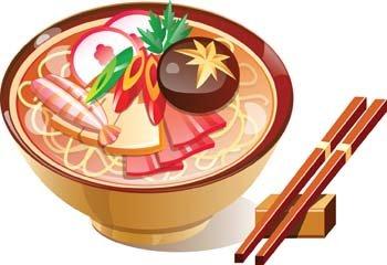 Sushi clip art vector graphics