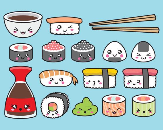 Sushi premium vector im genes predise adas clip art