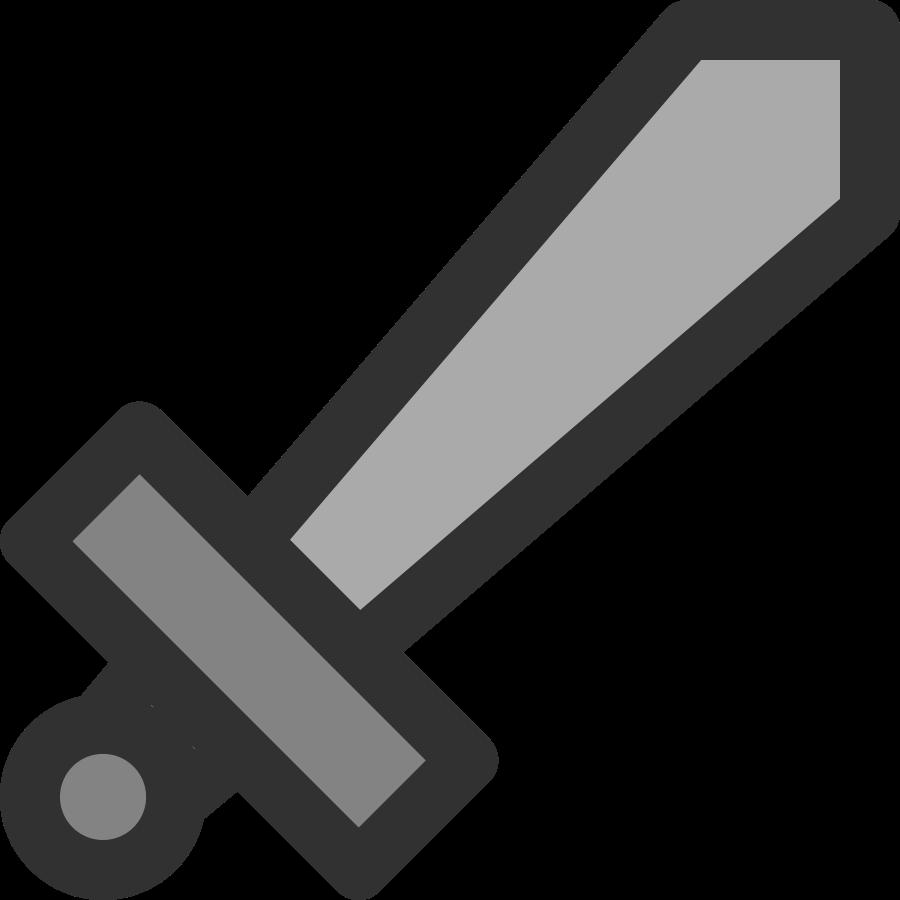 Sword clip art 2
