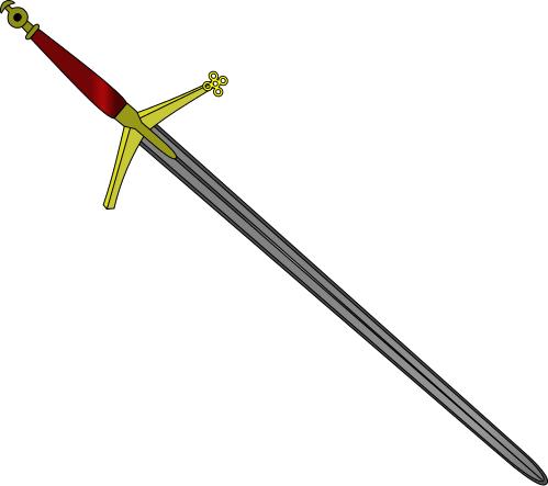 Sword clipart 4