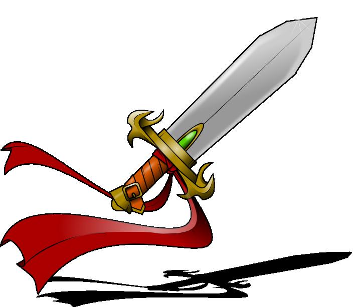Sword clipart 5