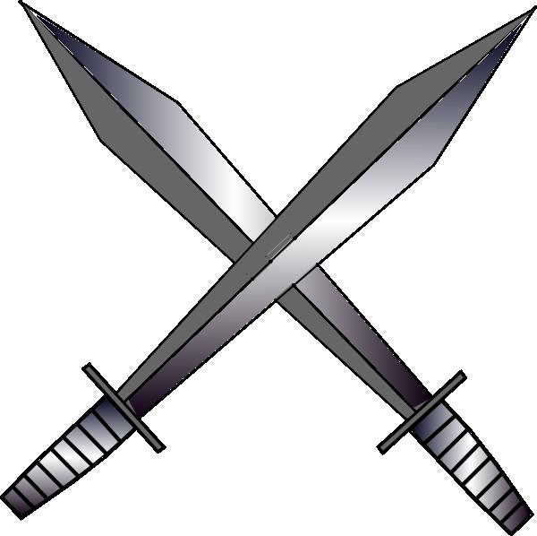 Sword clipart 6