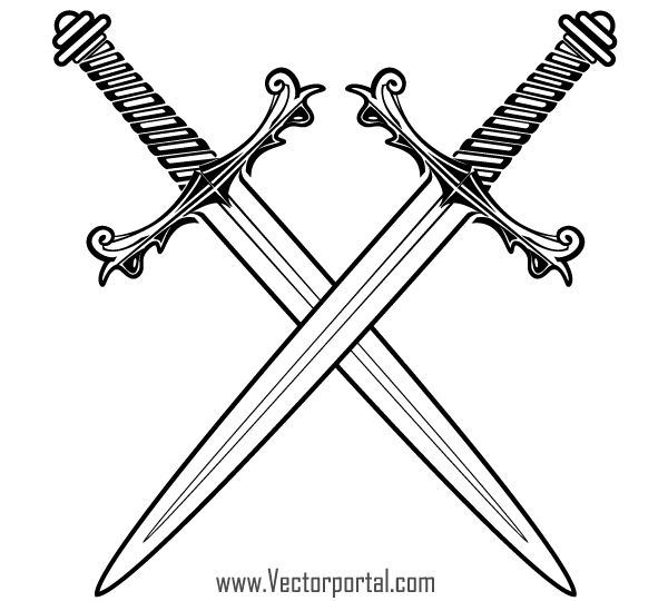 Sword clipart free images 4