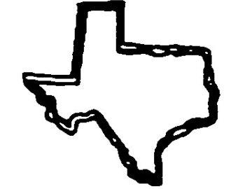 Texas clip art vector 2 2