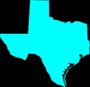 Texas clip art vector 2