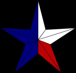 Texas flag clipart 2