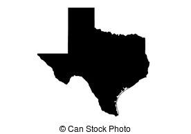 Texas outline clipart state of free