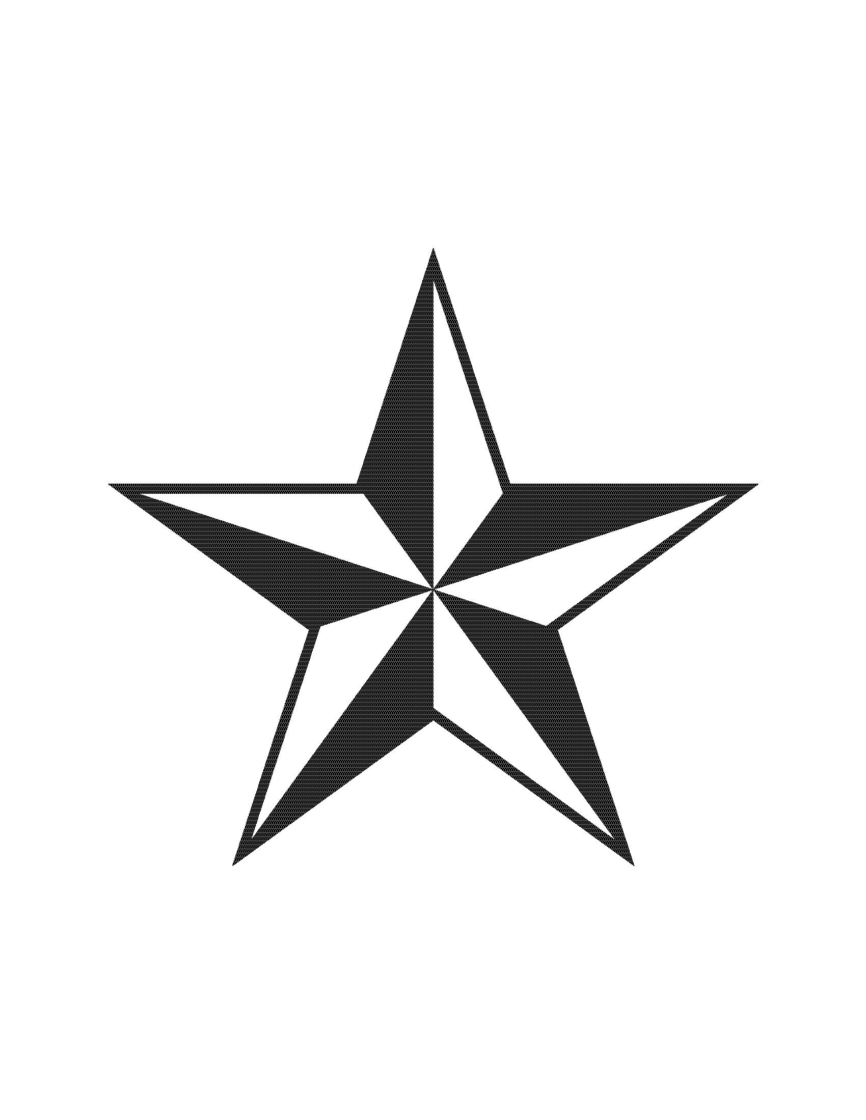 Texas star clip art clipart 5
