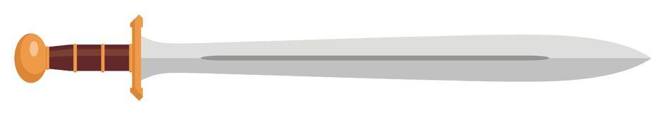 Trojan sword clipart