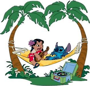 Tropical luau clipart hawaiian free clip art 6