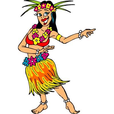 Tropical luau clipart hawaiian free clip art 7