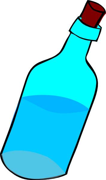 Water bottle clip hostted art clipart 2