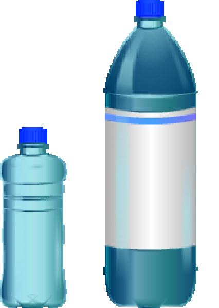 Water bottle clipart 2