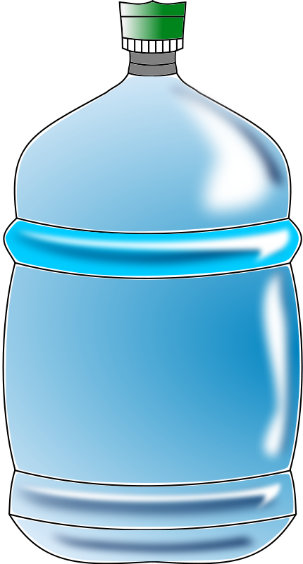 Water bottle clipart free 5