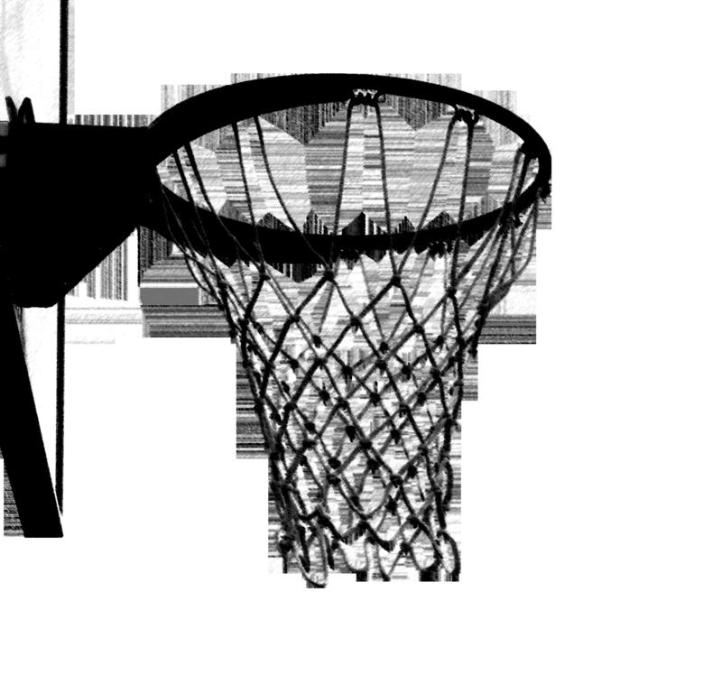Basketball hoop clipart 5