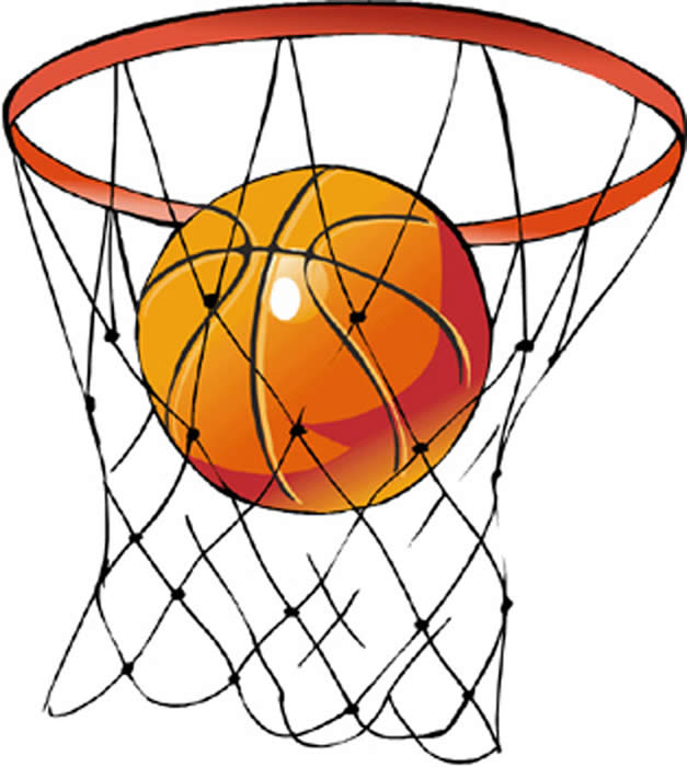 Basketball hoop clipart free images 6