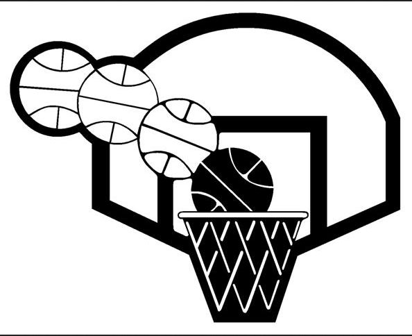 Basketball hoop images about basketball clipart on michael