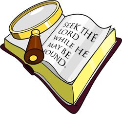 Bible study clip art 4