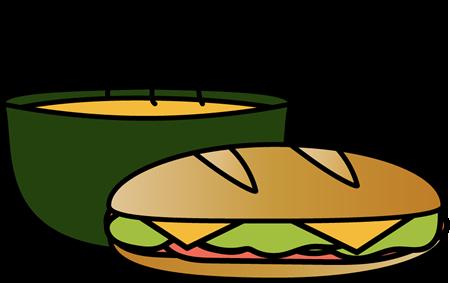 Bowl of soup clip art clipart download