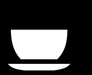 Bowl of soup clipart image