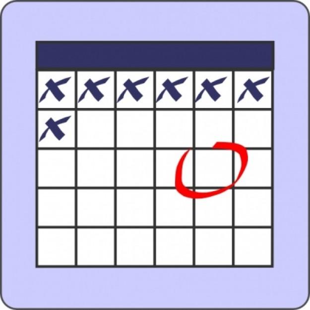 Calendar pic schedule clip art