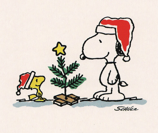 Charlie brown christmas clipart 2