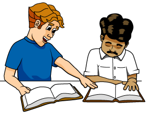 College student studying clipart free images 8