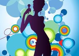 Concert clip art vector graphics 2