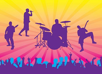 Concert clipart free images 3