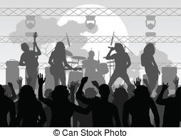 Concert clipart free images 4