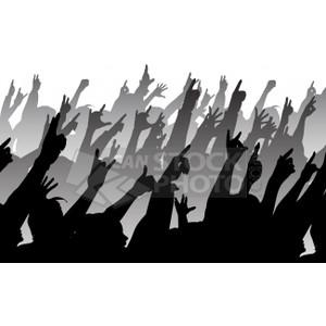 Concert crowd clip art clipart download 3