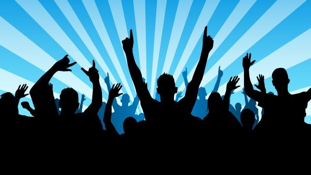Concert crowd clip art clipart download 4