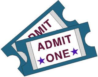 Concert ticket clipart 7