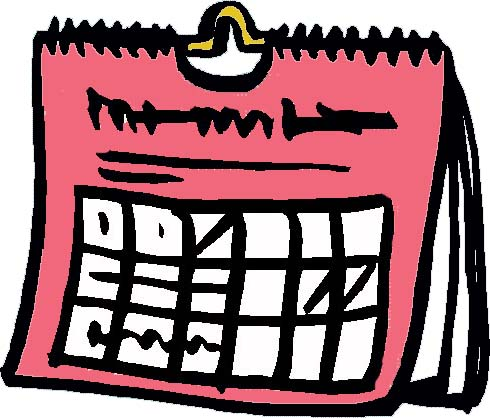 Daily schedule clipart free images 2