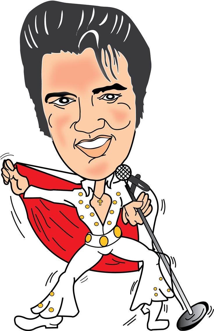 Elvis presley in concert clip art clipart download
