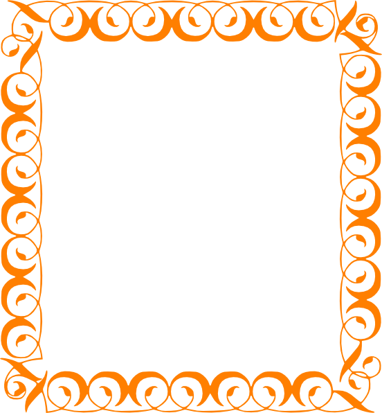 Fall pumpkin border free clipart images 2