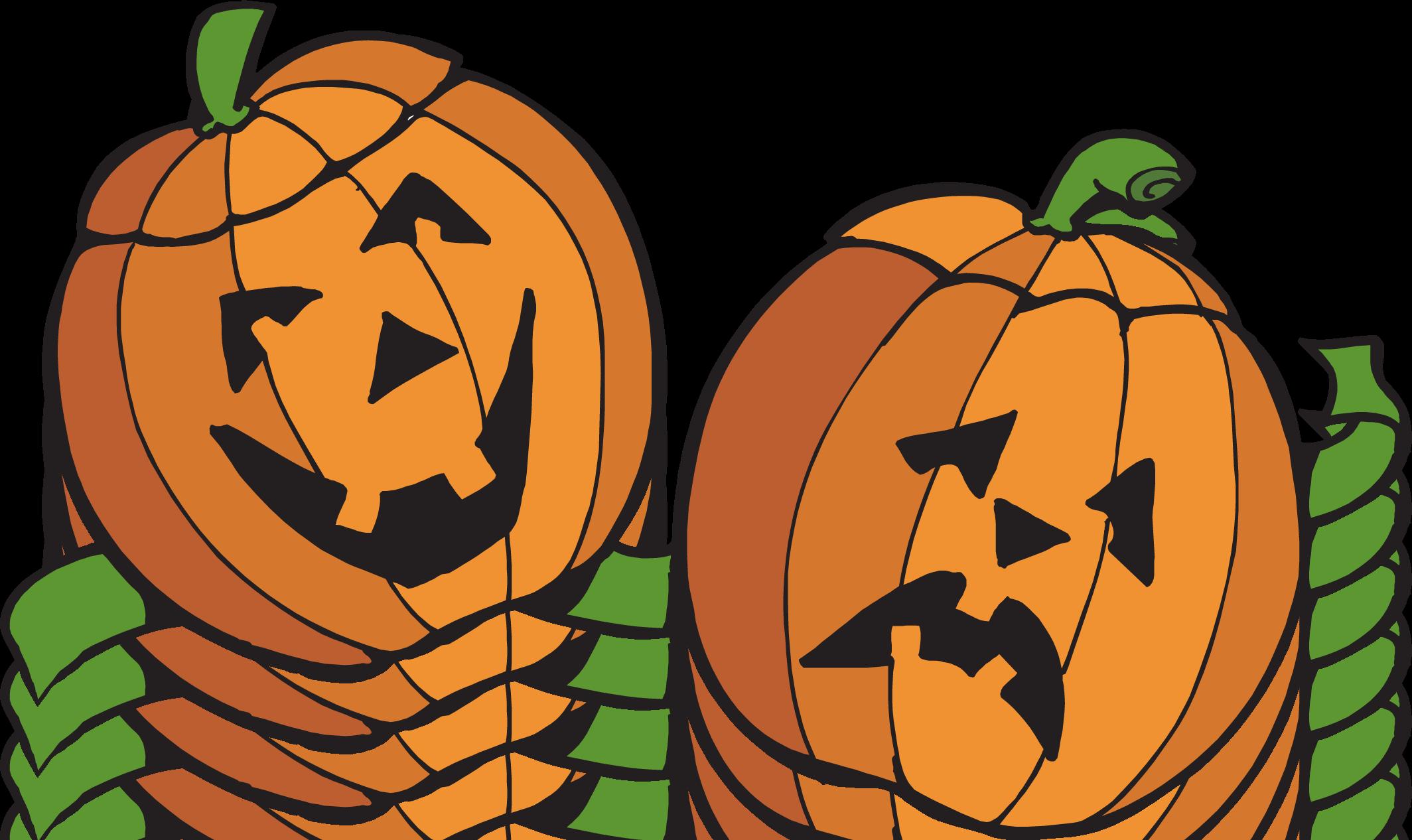 Fall pumpkin border free clipart images 4