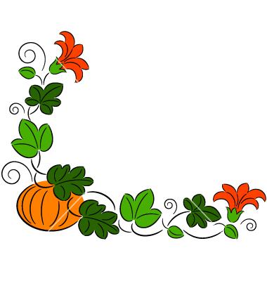 Fall pumpkin border free clipart images 5
