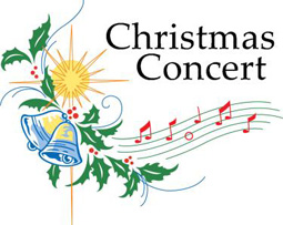 Free christmas concert clipart