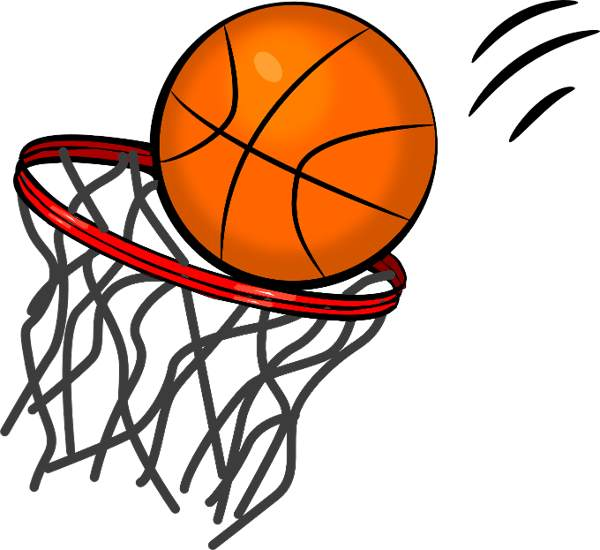 Free clipart basketball hoop images clipart