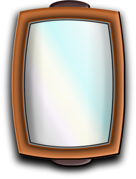 Free mirror clipart 1 page of clip art