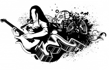 Free rock concert clipart 2