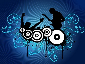 Free rock concert clipart 3