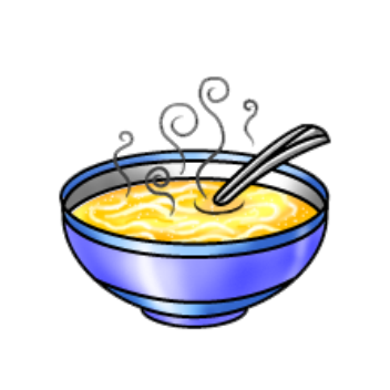 Free soup clipart pictures