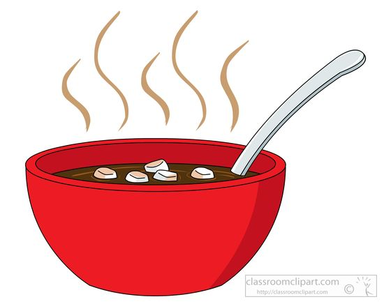 Free soup clipart the cliparts