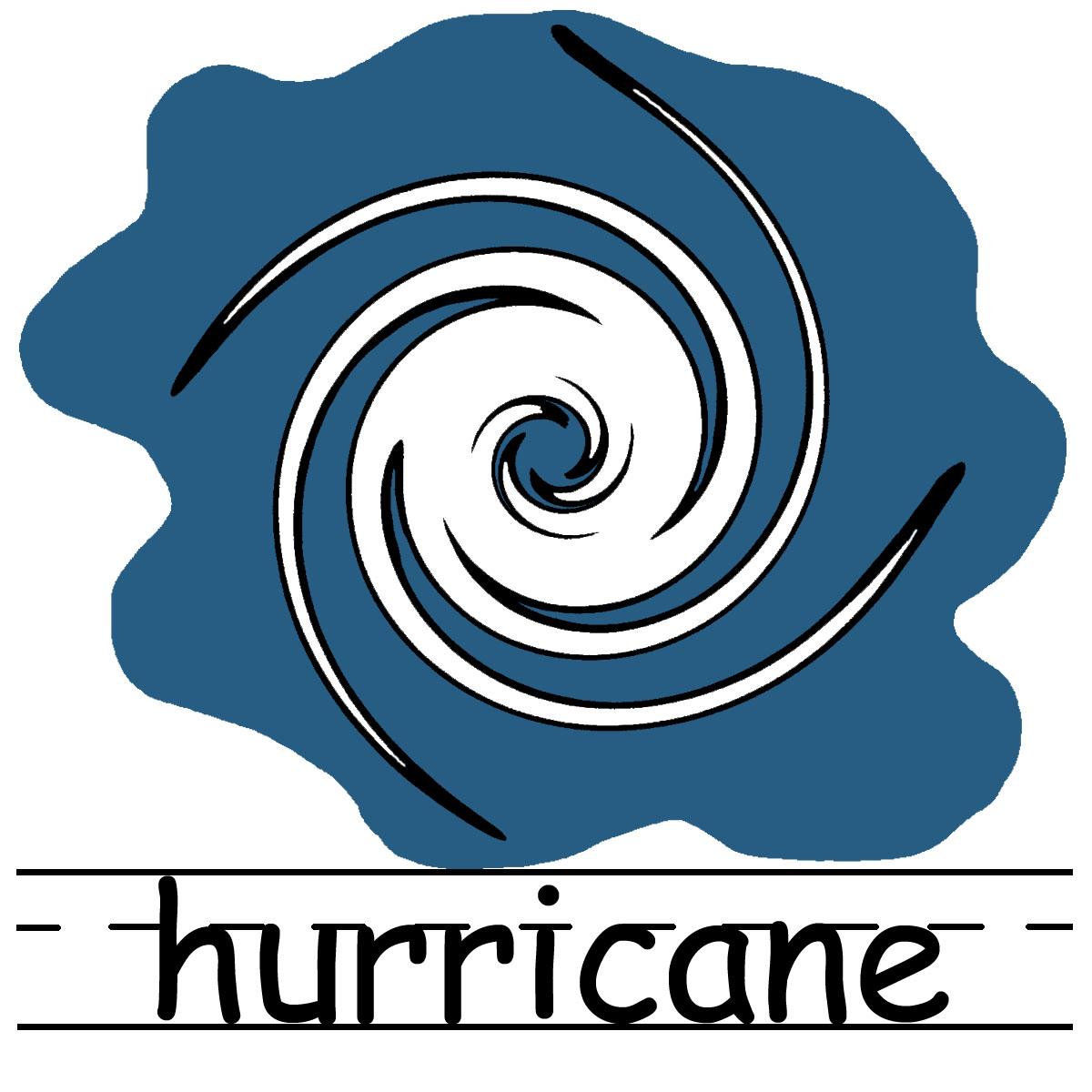 Hurricane clip art 2