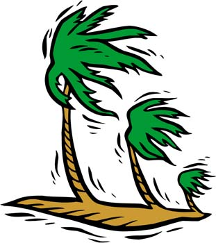 Hurricane facts science for kids clip art