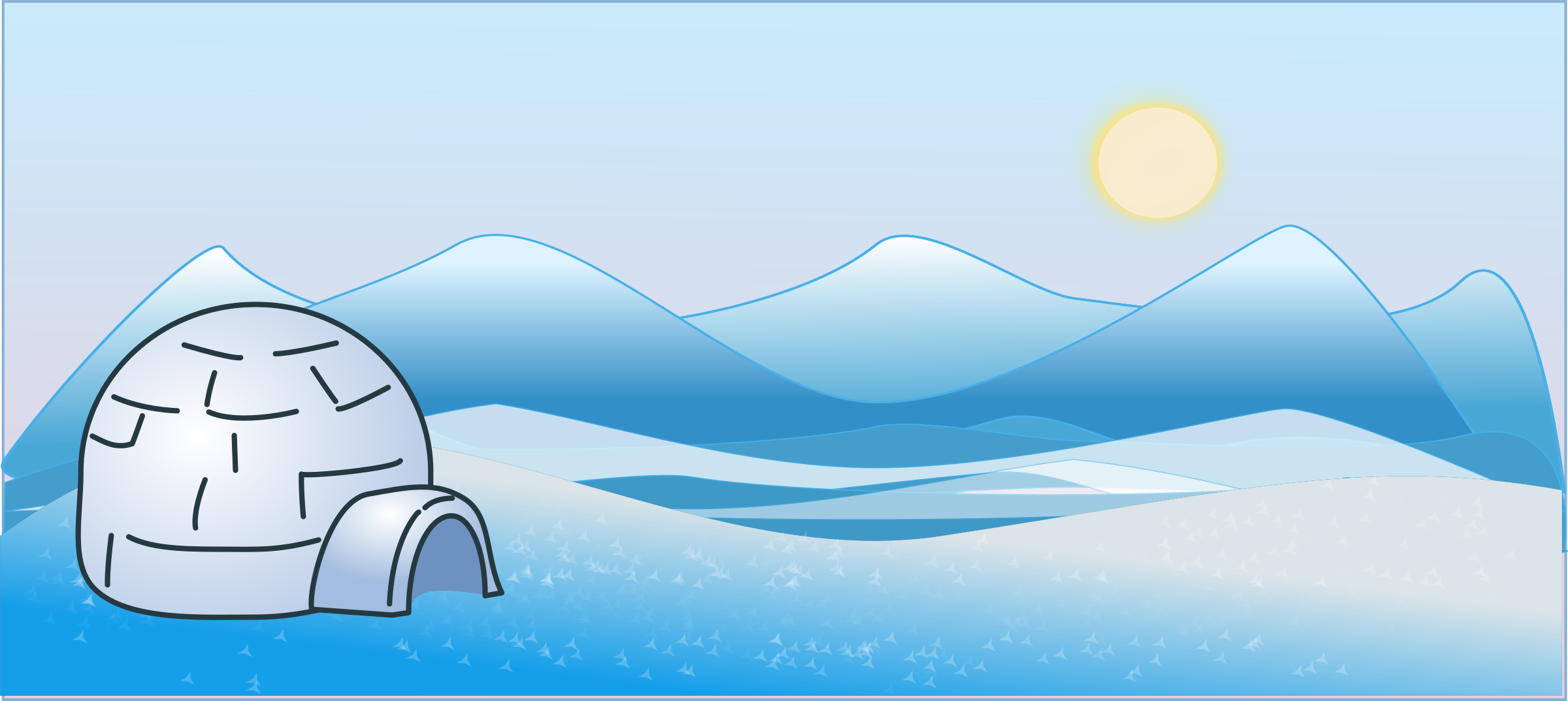 Igloo clipart 5 clipart