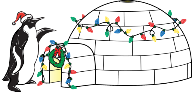 Igloo clipart 7 clipart